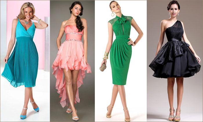 коктейльных платьев фото