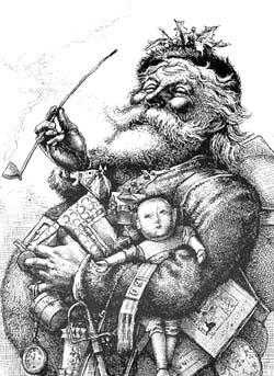 Санта Клаус Томаса Наста