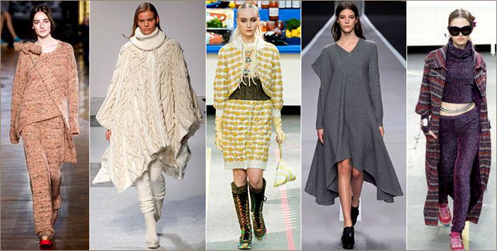 Мода осень-зима 2014-2015: трикотаж