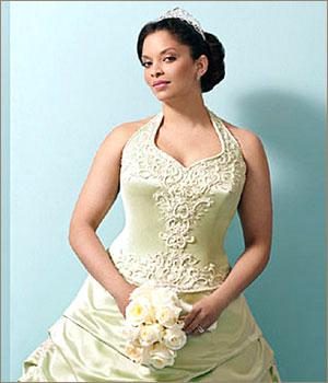 Свадебные платья для полных девушек. Как выбрать платье на полную