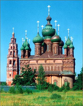 Церковь Иоанна Предтечи в Ярославле фотографии